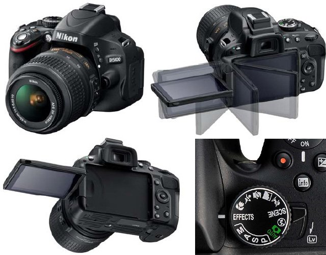 Цифровой зеркальный фотоаппарат nikon